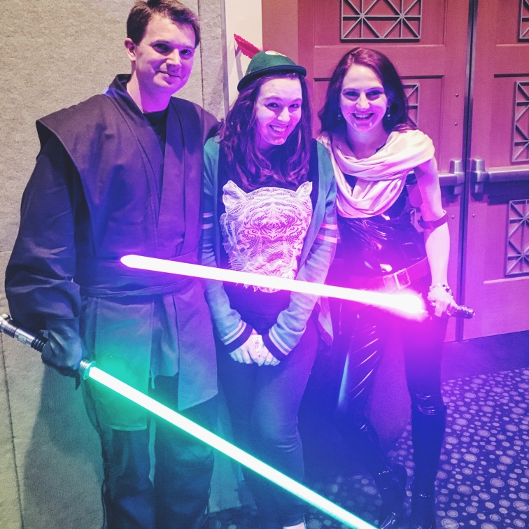 Got to meet Luke Skywalker and Mara Jade