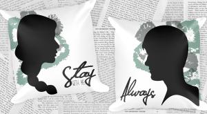 Katniss & Peeta Pillows